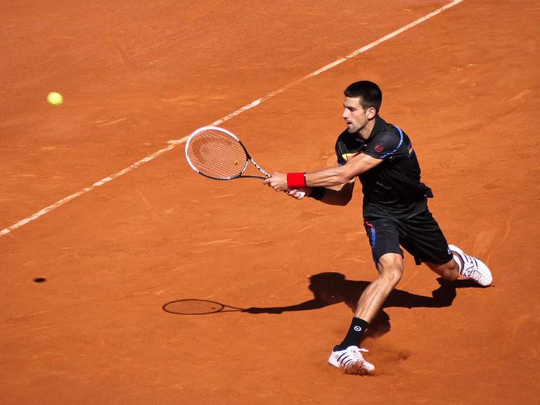Serbian tennis superstar Novak Djoković