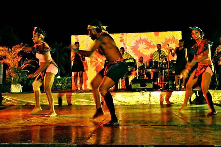 Jamaican dancing