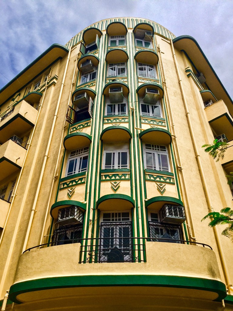 Shiv Shanti Bhuvan is one of the most beautifully conserved Art Deco buildings in Mumbai