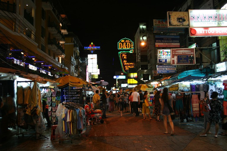 Khaosan Road – overdone and overrated