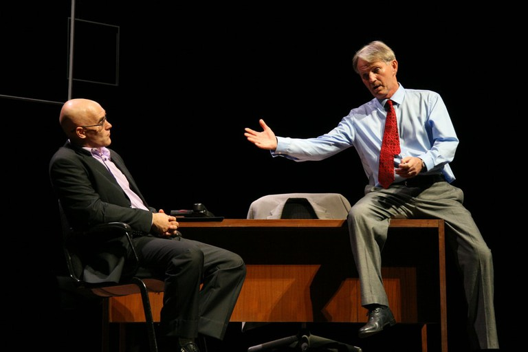 American play Success being performed at the Kamani Auditorium
