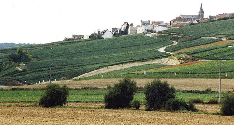 A village in the Champagne region of France