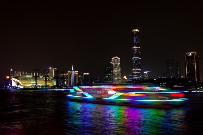 The Guangzhou River-The Pearl River-