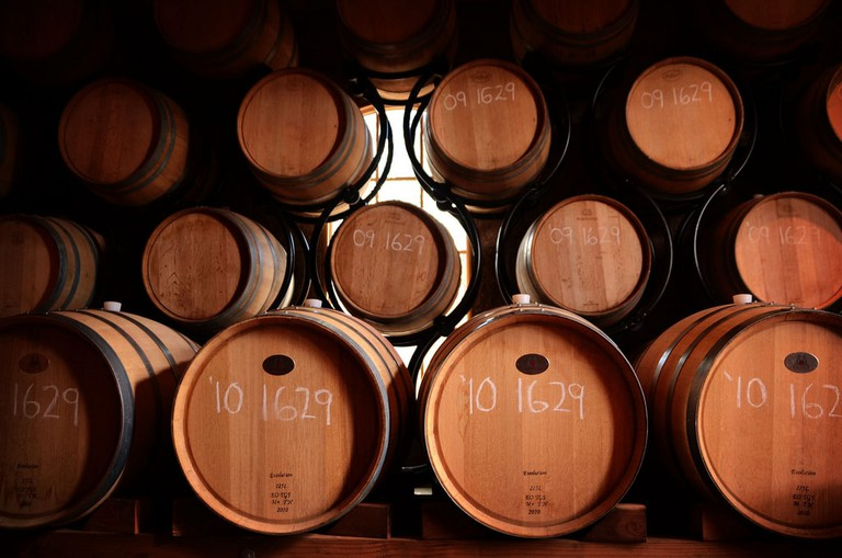 Wine Barrels │