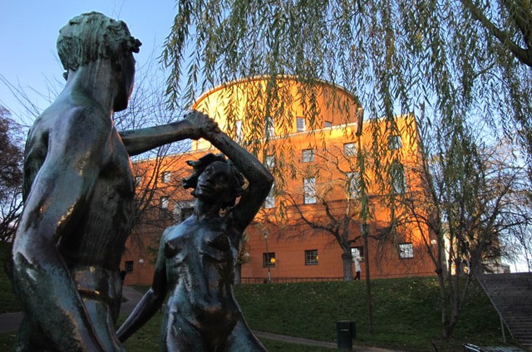 Stockholm State Library exterior | © Regionbibliotek Stockholm / Flickr