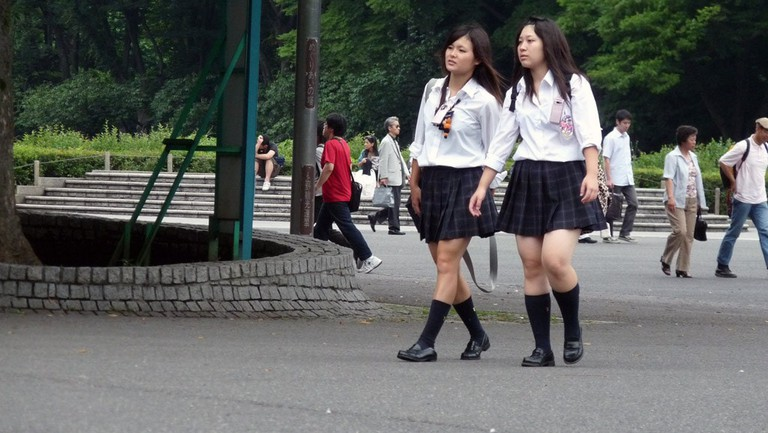 japan high school girl
