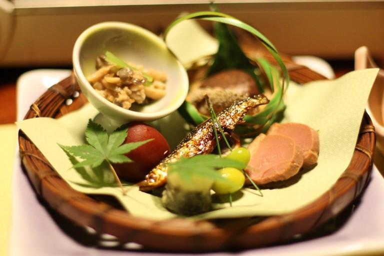 Kaiseki is elevated Japanese cuisine