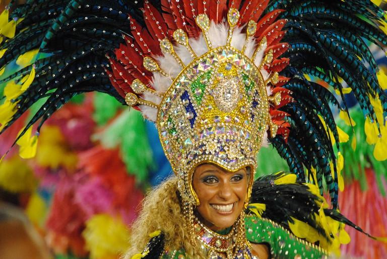 The flamboyant, vibrant costumes