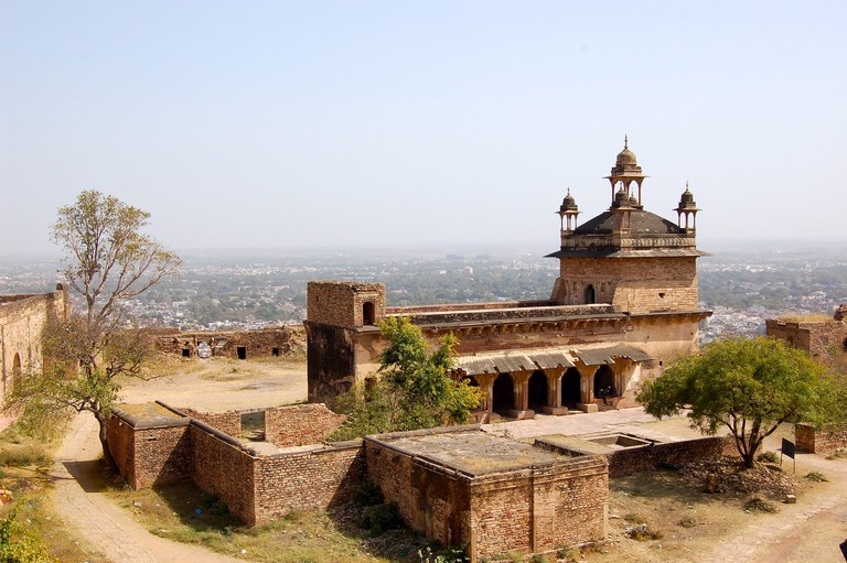 Gujari Mahal is now home to rare artefacts