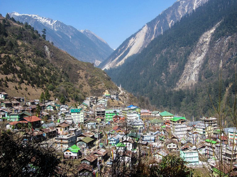 Nestled amid Himalayan ranges, the city of Lachen