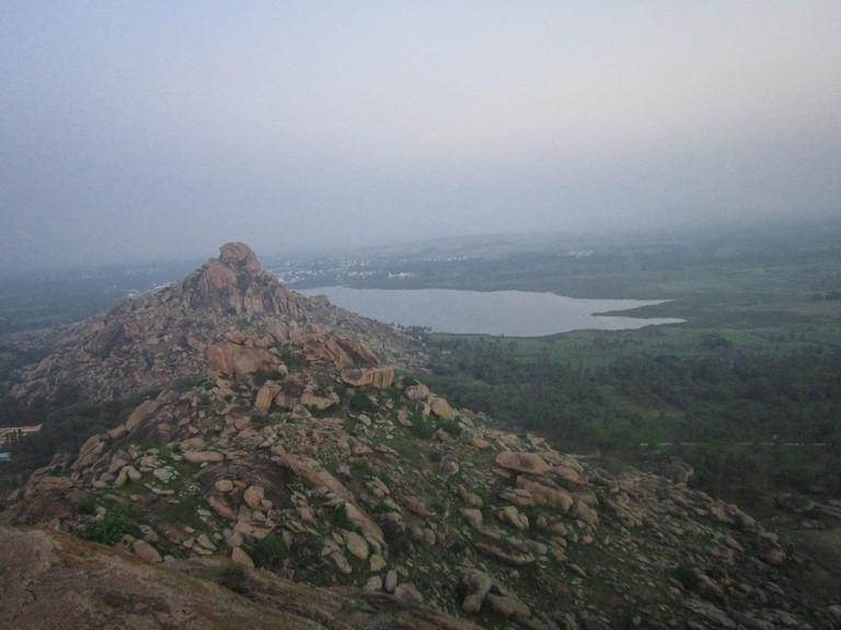 The names Kunti and Pandavapura come from an Indian mythological story 'Mahabharata'