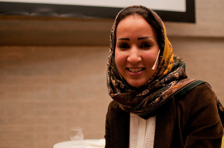 Manal Al Sharif, one of the leading human rights activists in Saudi Arabia
