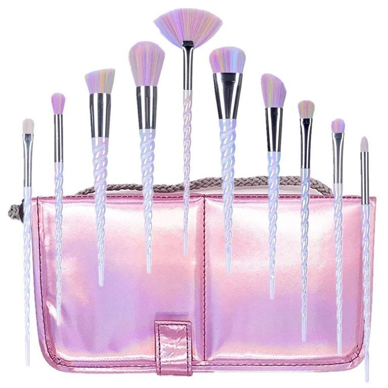 Ksun Pink Unicorn Brush Set