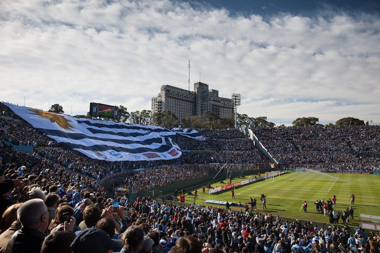 Estadio Centenario, Uruguay's main football stadium
