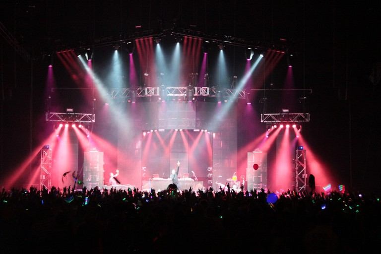 Break Science/ Mux Mool NYE 2012 @Bridgestone Arena, Nashville