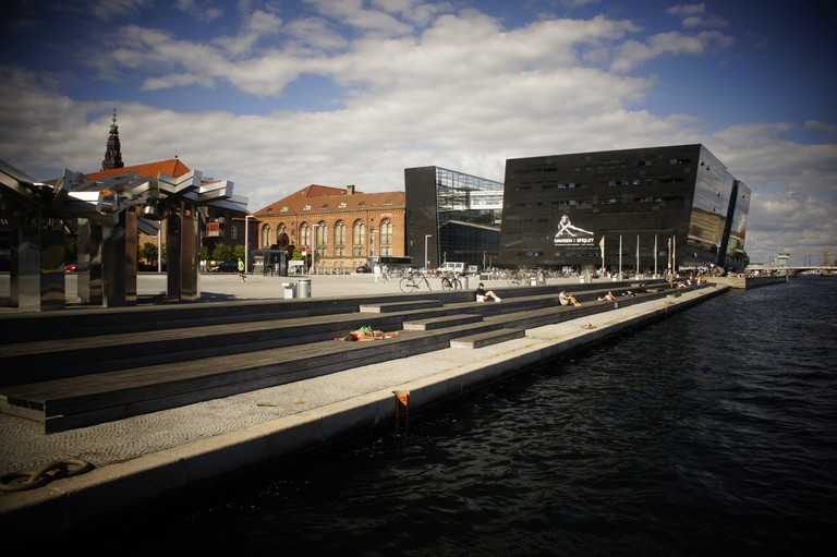 The Black Diamond of Copenhagen, exterior