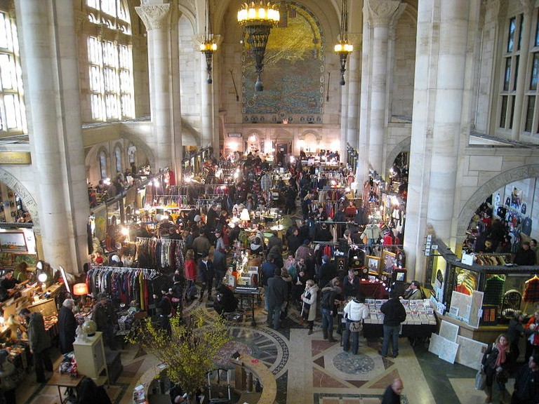 Brooklyn Flea holiday market