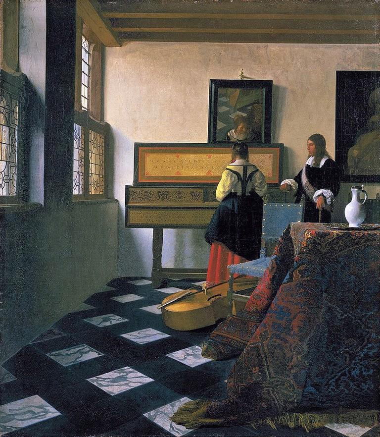 Johannes Vermeer, The Music Lesson