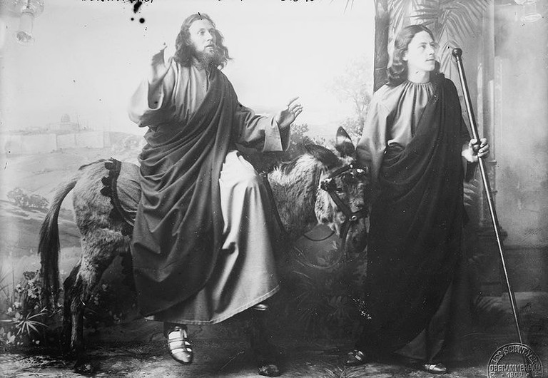 Oberammergau Passion Play, 1900