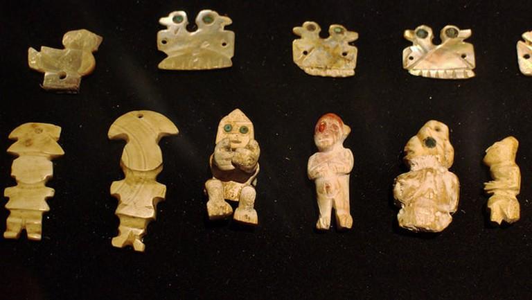 Pre-Columbian art work
