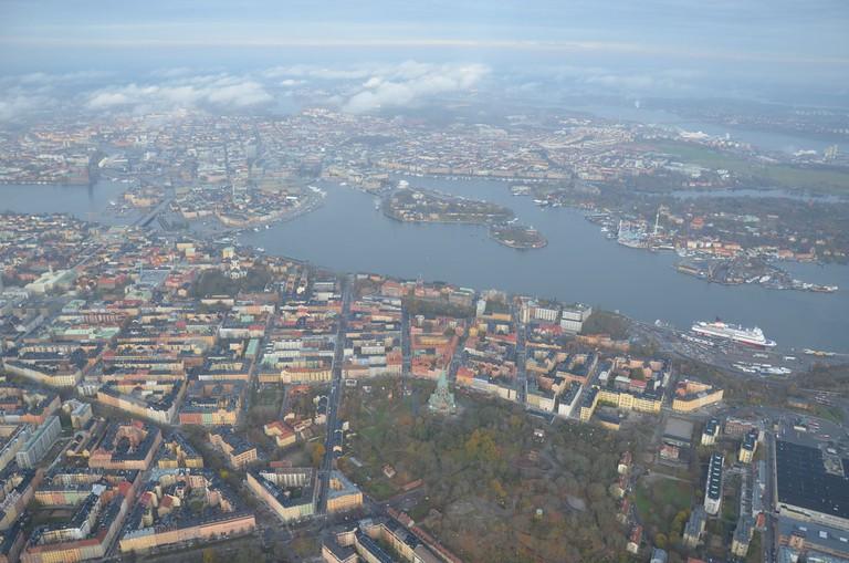 A few of Stockholm's fourteen islands