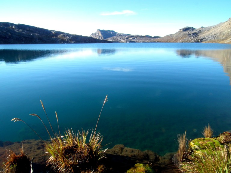 Glacial lake in El Cocuy National Park
