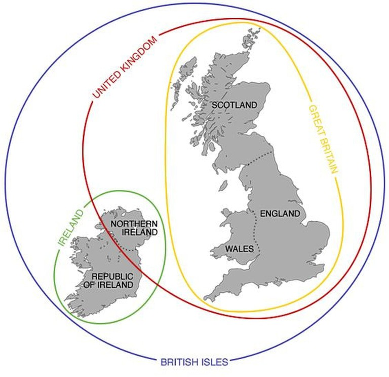 Illustration of Great Britain & the United Kingdom