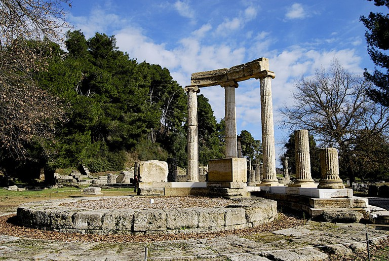 Monument to Philip II, Philippeion, Olympia, Greece