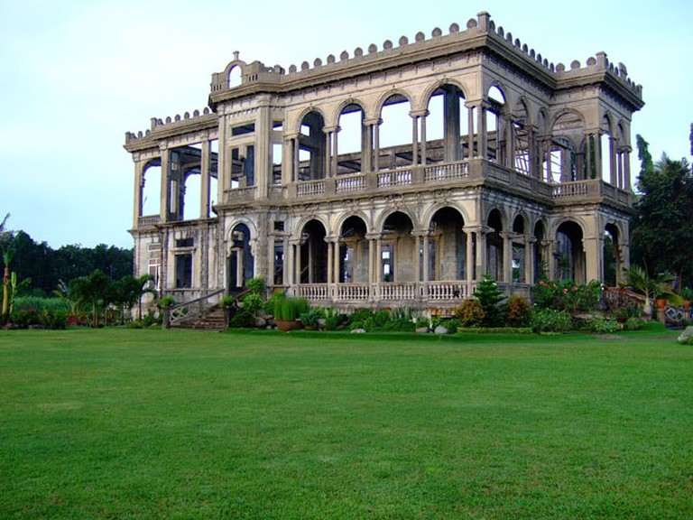Don Mariano Lacson Mansion also known as, The Ruins
