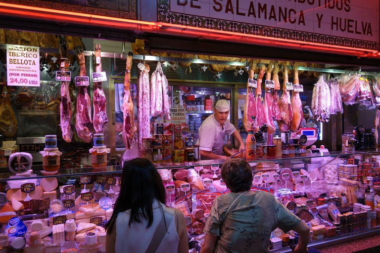Spanish jamón is a must-try when visiting Madrid