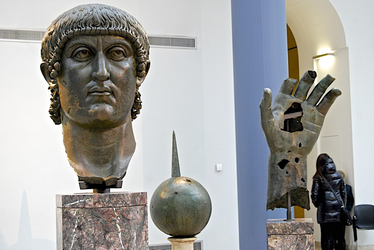 Inside the Capitoline Museums   © Andy Montgomery/Flickr
