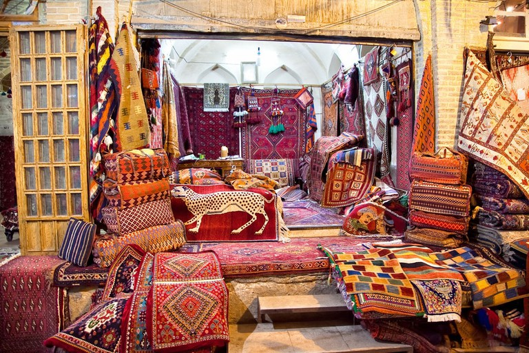 Persian carpets come in many floral, geometric, and tribal patterns
