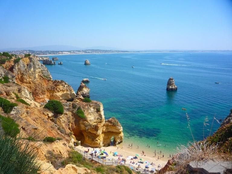 Camilo Beach offers amazing views