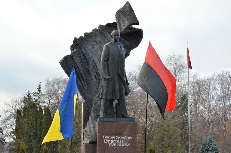 Stepan Bandera monument