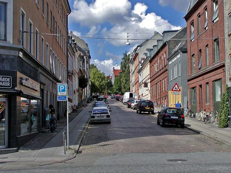 A side street in Aarhus