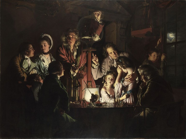 An Experiment on a Bird in the Air Pump | Joseph Wright of Derby [Public domain], via WikiCommons