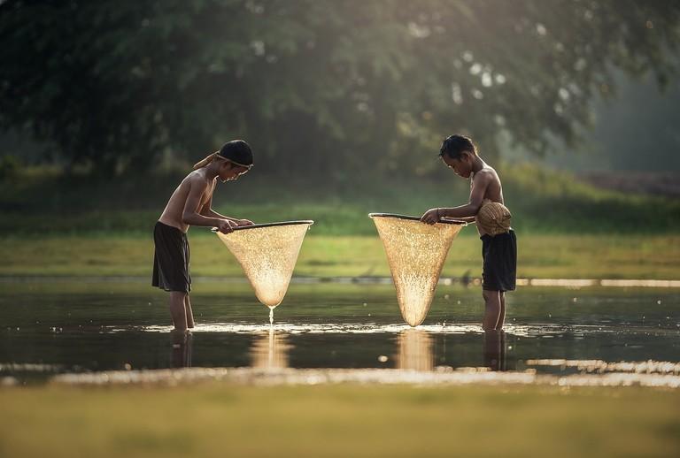 Lao Boys | © Sasint/Pixabay