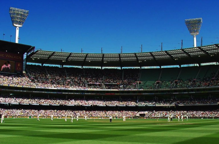 Ashes cricket at the Melbourne Cricket Ground