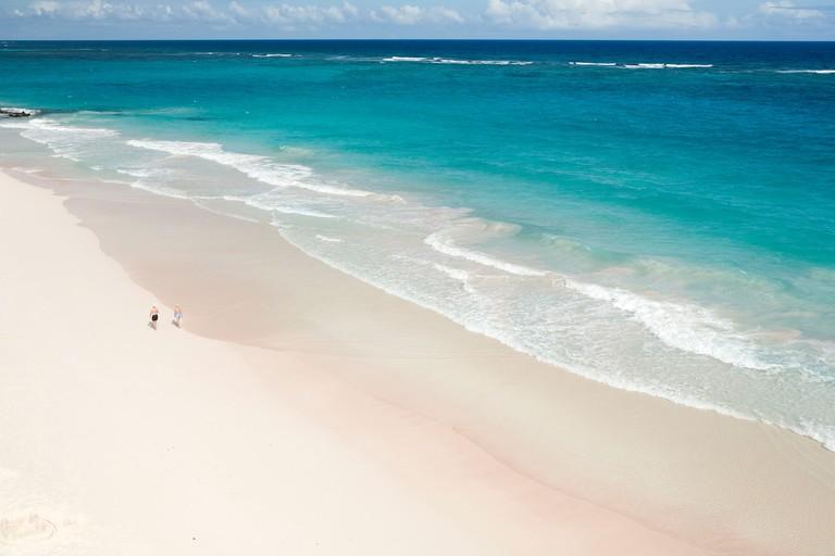 Crane Beach, Barbados Caribbean.