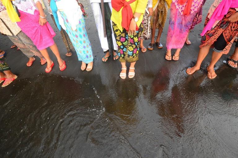Ceremony in Indonesia