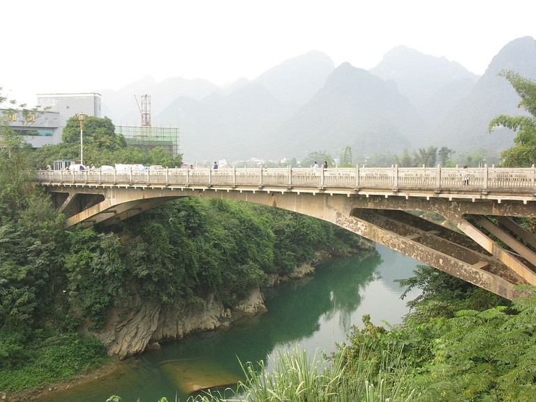 Bridge between Vietnam and China