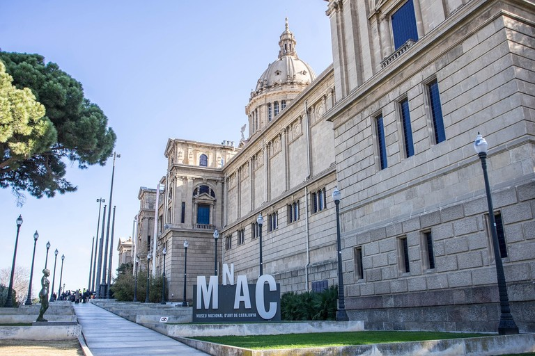 The MNAC, Barcelona
