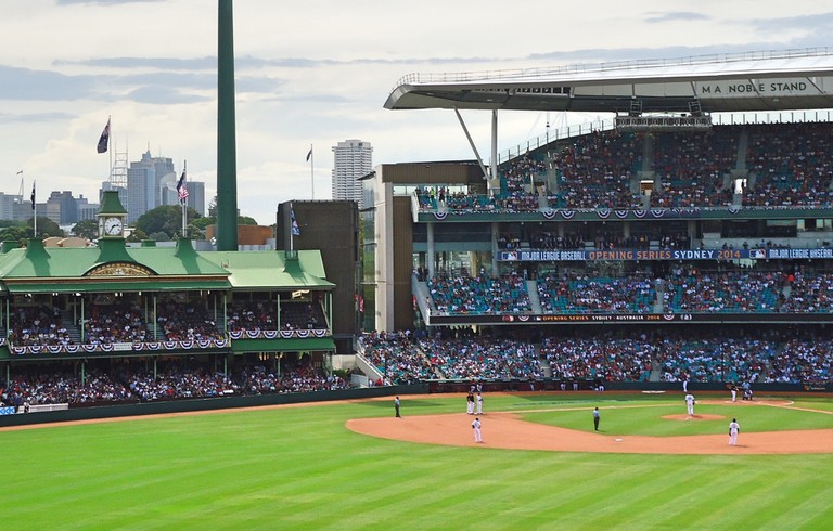 Baseball at the SCG | © Tom Smith
