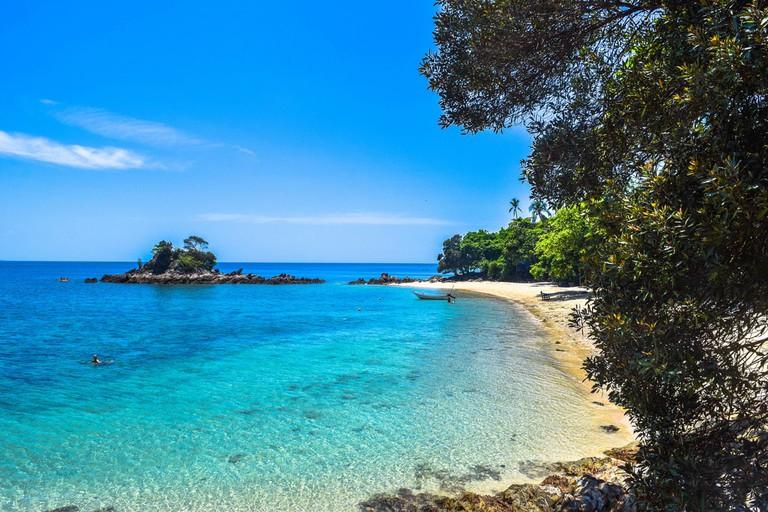 Beautiful Kapas Island off the coast of Kota Kinabalu, Sabah