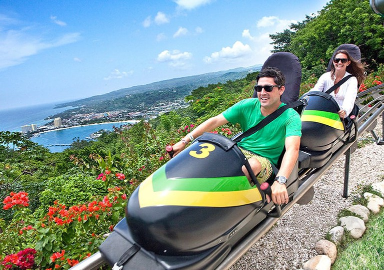 Bobsled in Mystic Mountain