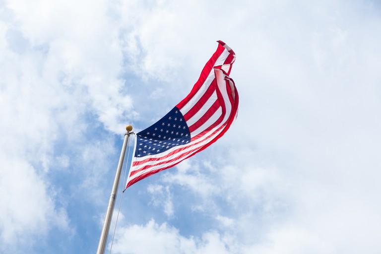 American flag | © Brandon Day / Unsplash