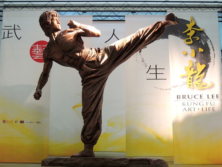 Bruce Lee Exhibition Hong Kong