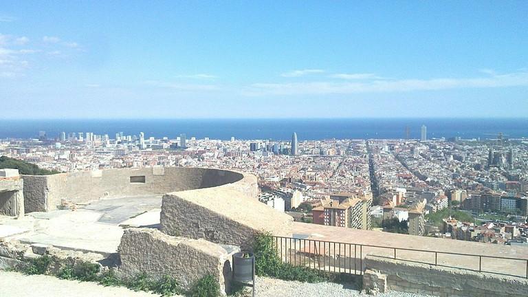 Bunkers del Carmel, Barcelona   © Toniher:WikiCommons