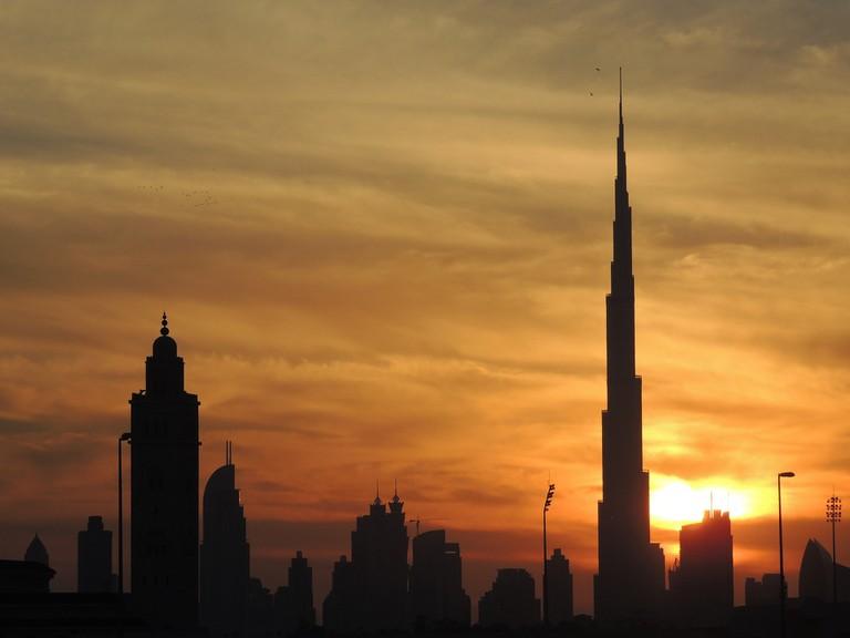 Dubai Sunset | © dniyer/Pixabay