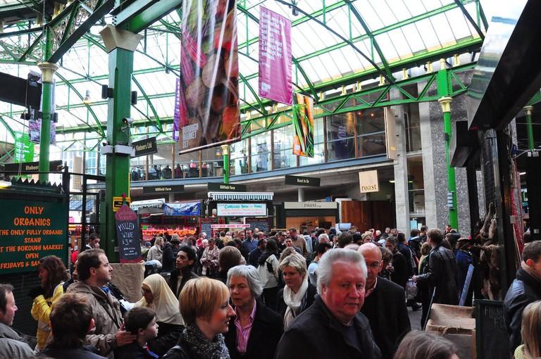 Busy Borough Market | © Nick Webb:Flickr